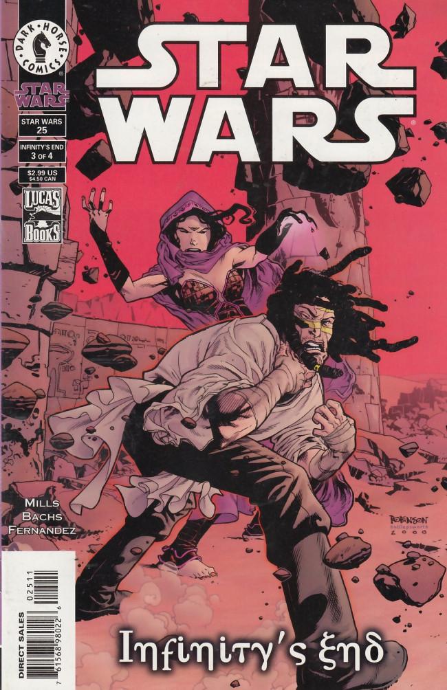 Couverture de Star Wars (1998) -25- Infinity's End, Part 3 of 4