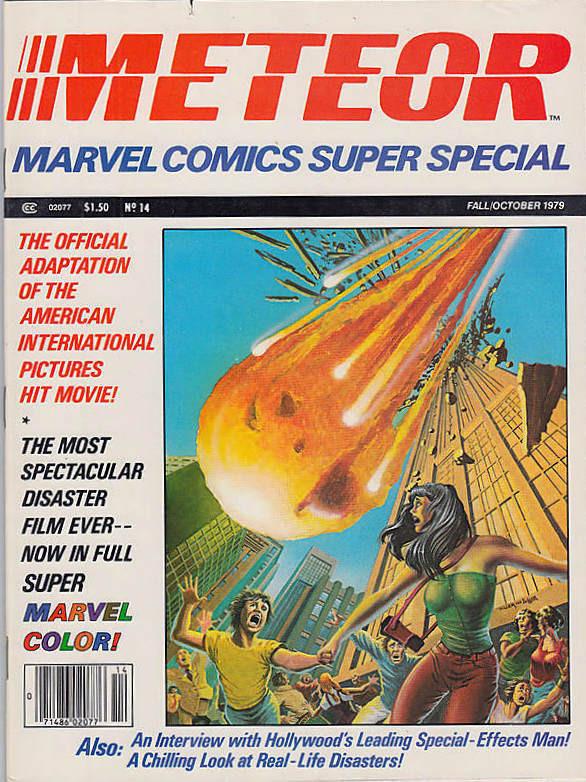 Couverture de Marvel Comics Super Special Vol 1 (1977) -14- Meteor