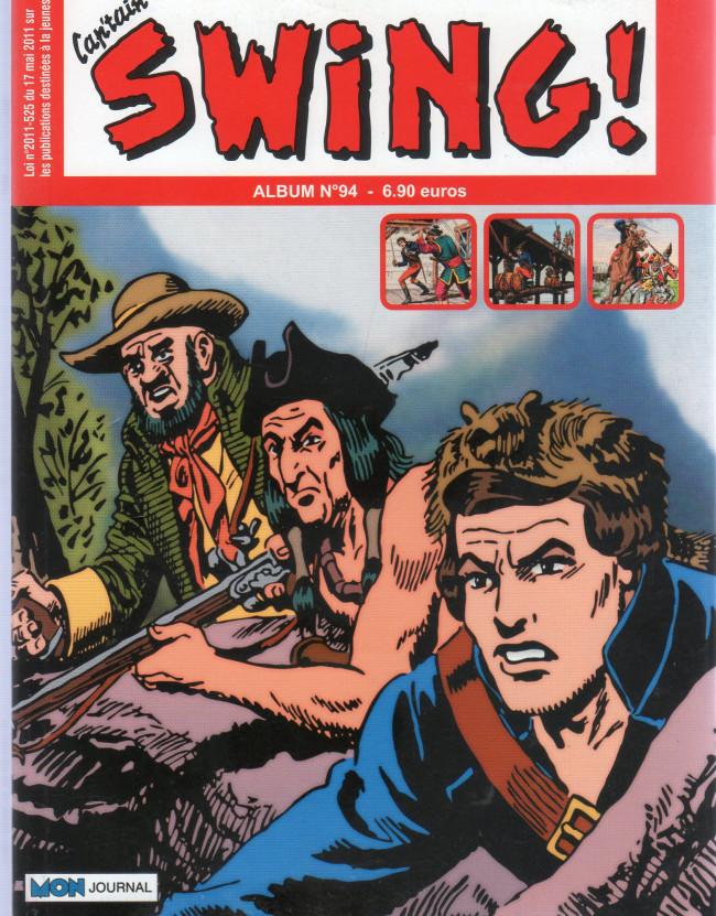 Couverture de Capt'ain Swing! (2e série - Mon Journal) -Rec94- Album N°94 (du n°282 au n°284)