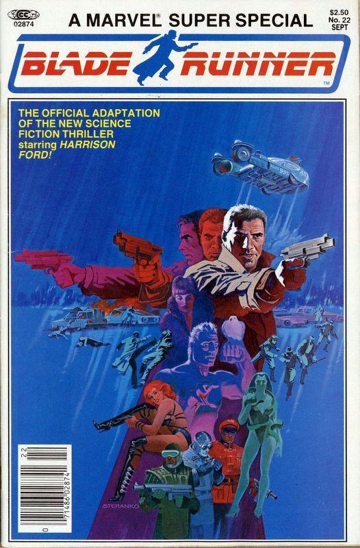 Couverture de Marvel Comics Super Special Vol 1 (1977) -22- Blade Runner