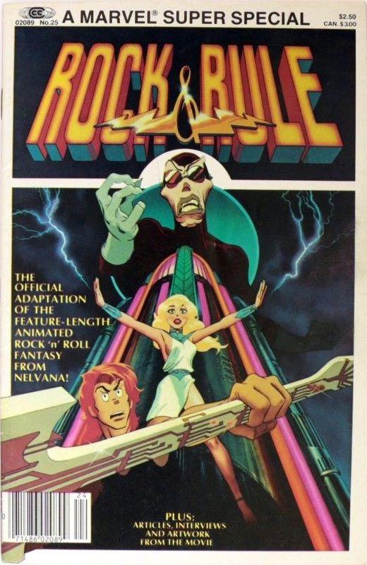 Couverture de Marvel Comics Super Special Vol 1 (1977) -25- Rock & Rule