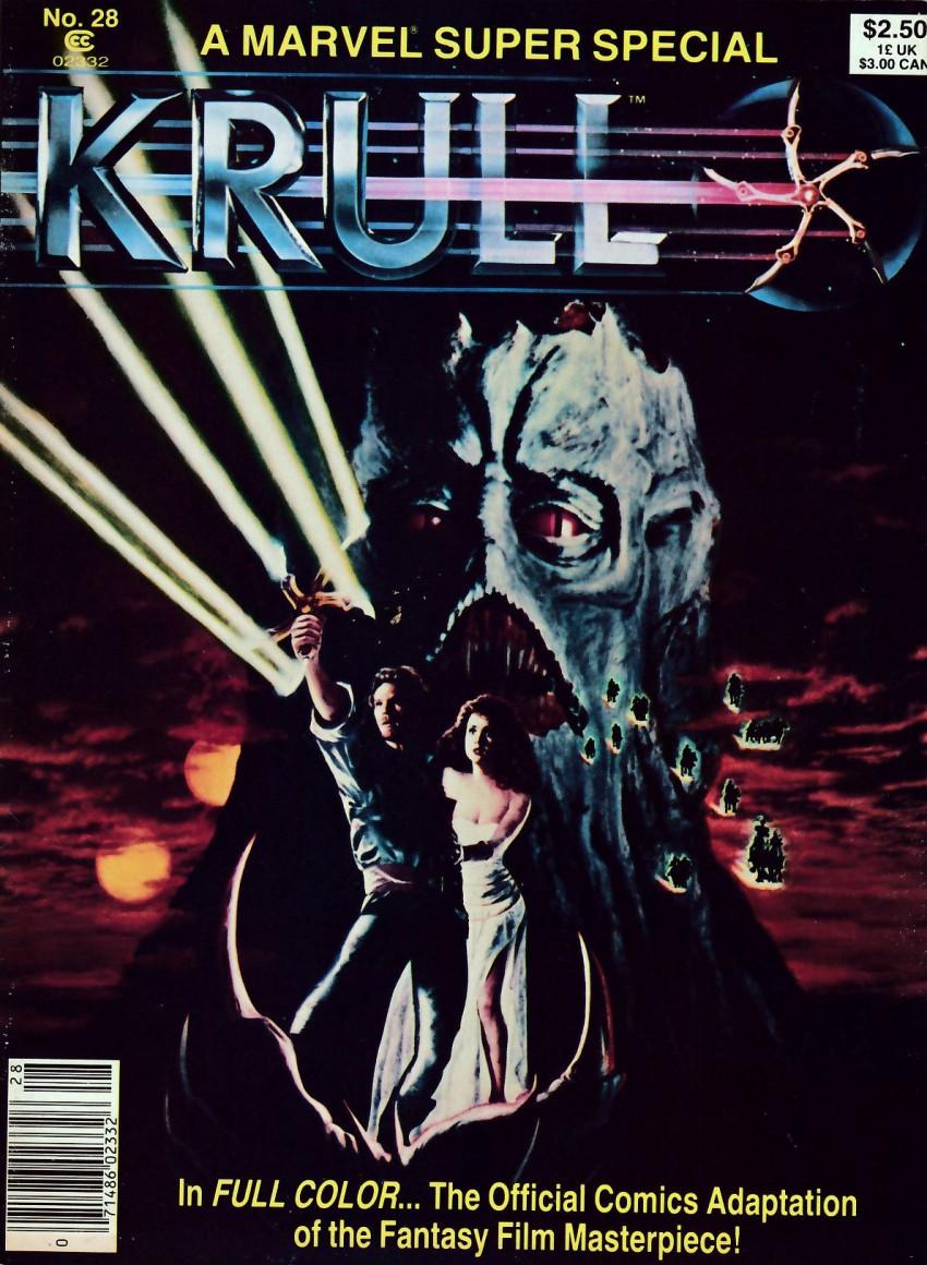 Couverture de Marvel Comics Super Special Vol 1 (1977) -28- Krull