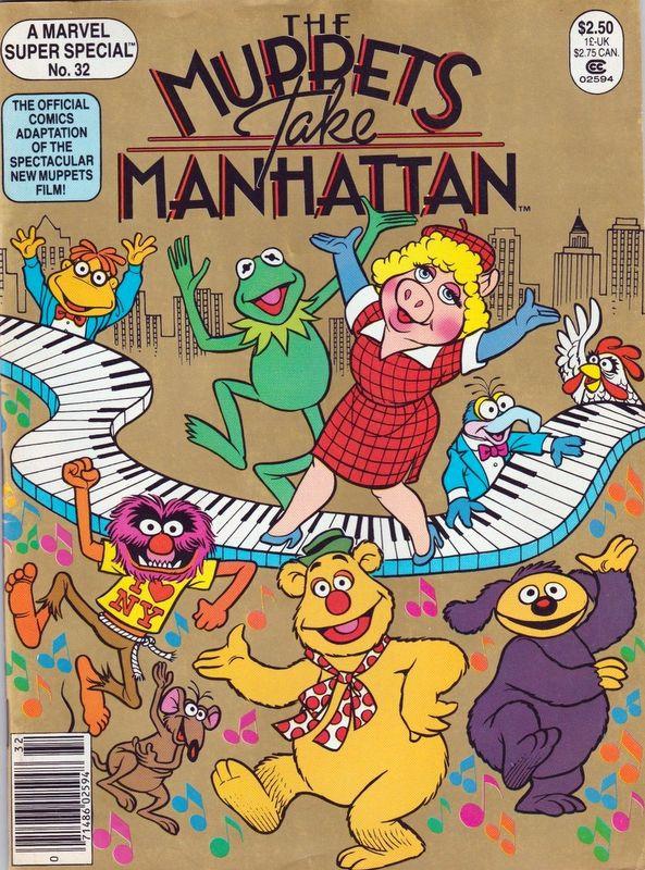 Couverture de Marvel Comics Super Special Vol 1 (1977) -32- The Muppets Take Manhattan