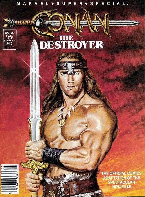 Couverture de Marvel Comics Super Special Vol 1 (1977) -35- Conan the Destroyer