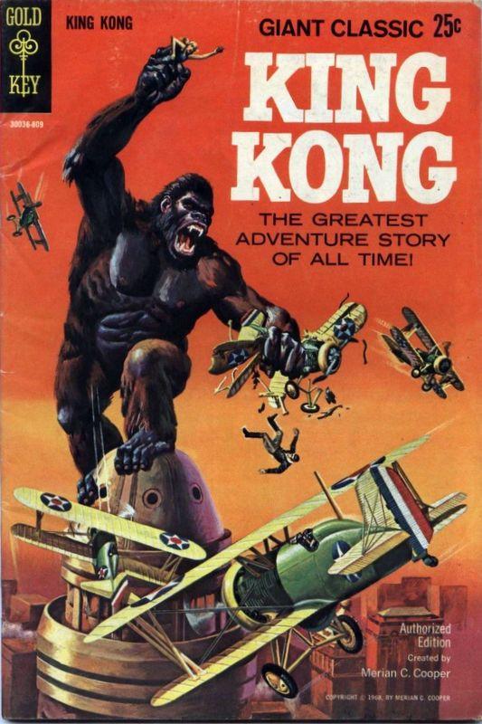 Couverture de Movie comics (Gold Key) -809- King Kong