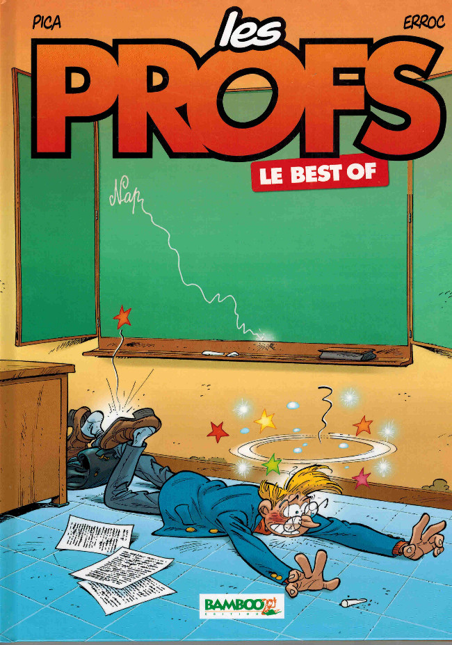 Couverture de Les profs -Compil4- Le Best Of