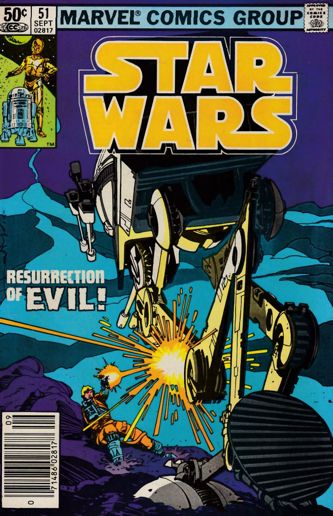 Couverture de Star Wars (1977) -51- Resurrection of Evil