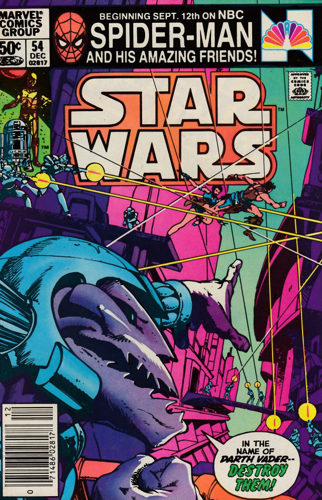 Couverture de Star Wars (Marvel Comics - 1977) -54- Starfire Rising!