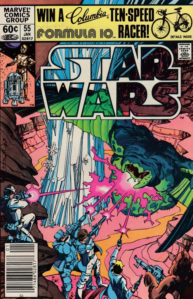 Couverture de Star Wars (1977) -55- Plif!