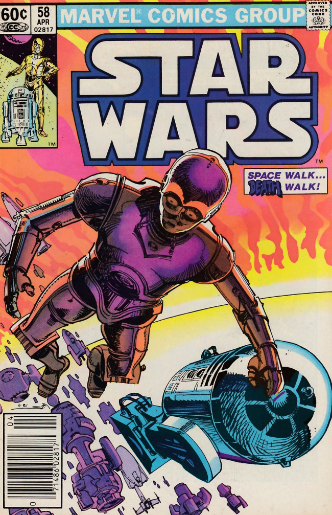 Couverture de Star Wars (Marvel Comics - 1977) -58- Sundown!