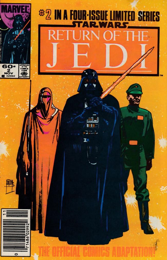 Couverture de Star Wars: Return of The Jedi (1983) -2- Chapter 2: The Emperor Commands!