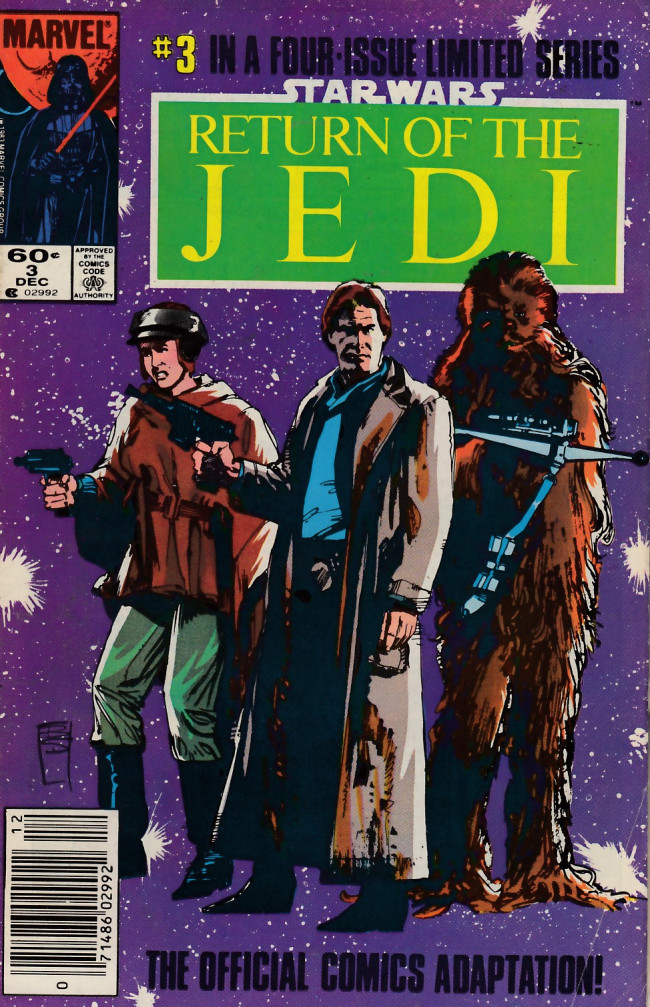 Couverture de Star Wars: Return of The Jedi (1983) -3- Chapter Three: The Mission To Endor!