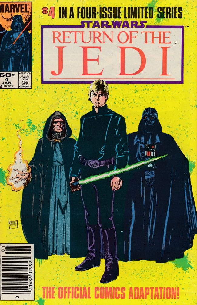 Couverture de Star Wars: Return of The Jedi (1983) -4- Chapter Four: The Final Duel!