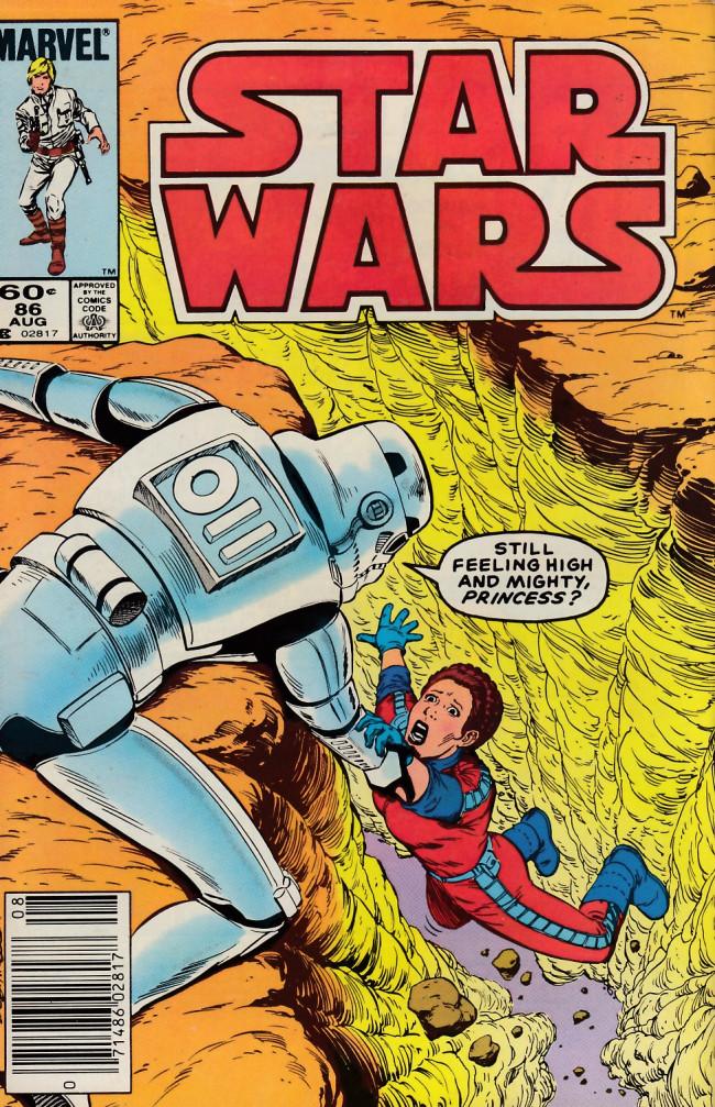 Couverture de Star Wars (Marvel Comics - 1977) -86- The Alderaan Factor