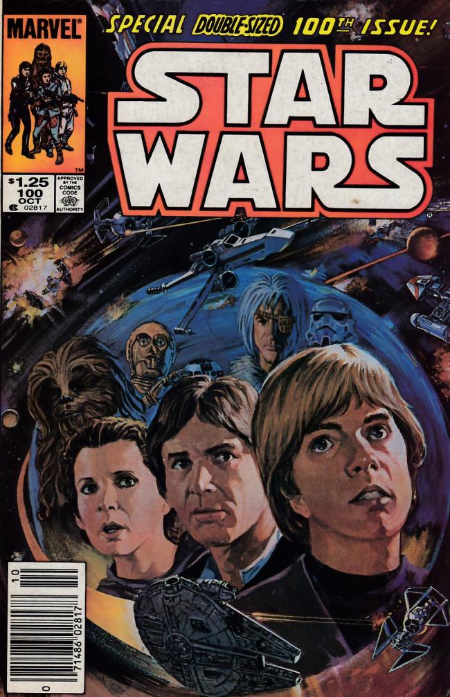 Couverture de Star Wars (1977) -100- First Strike