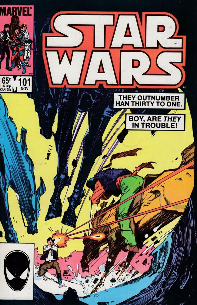 Couverture de Star Wars (Marvel Comics - 1977) -101- Far, Far Away