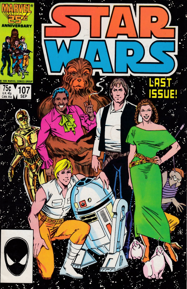 Couverture de Star Wars (1977) -107- All Together Now