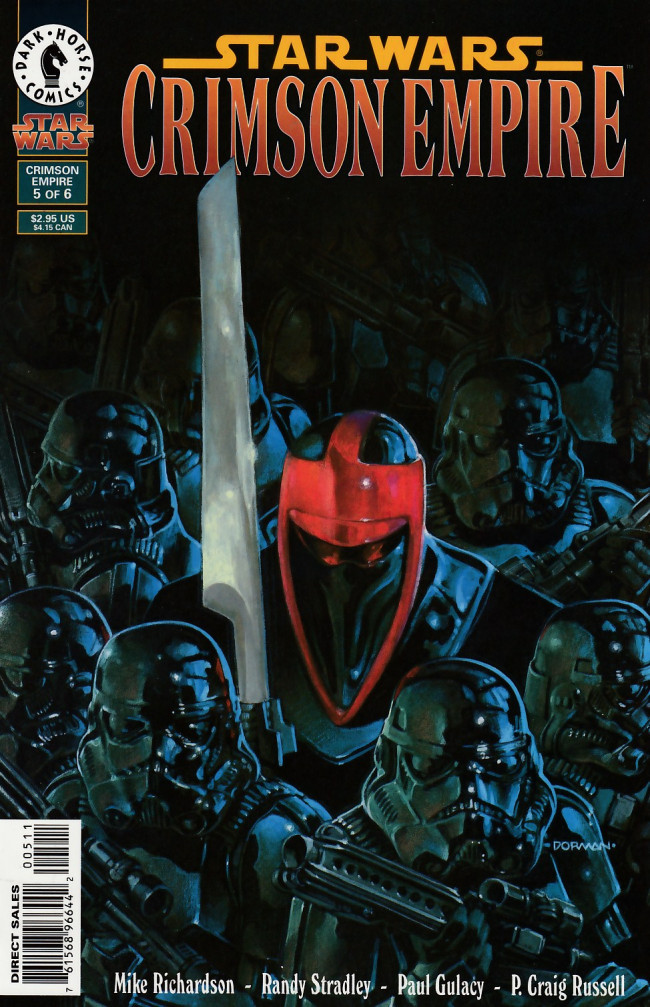 Couverture de Star Wars: Crimson Empire (1997) -5- Crimson Empire part 5 of 6