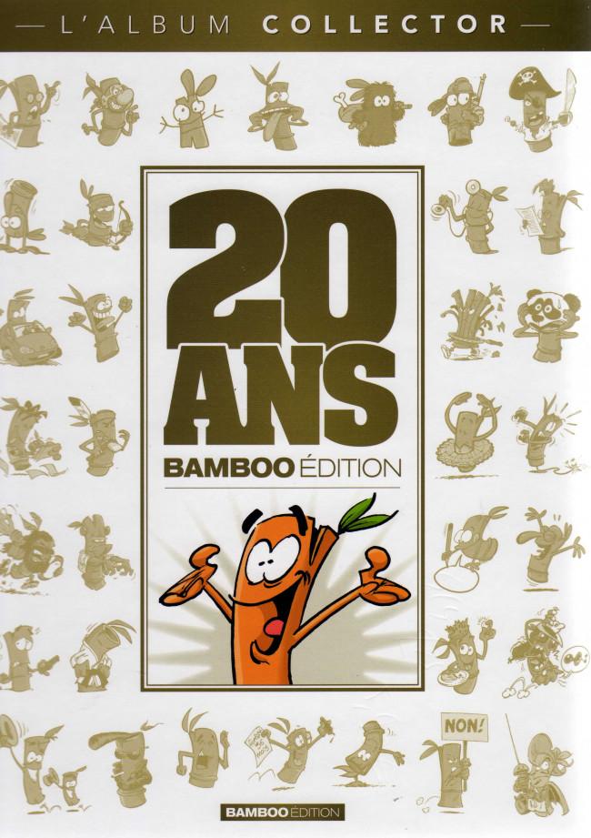 Couverture de 10 ans Bamboo -2- 20 ans Bamboo Edition