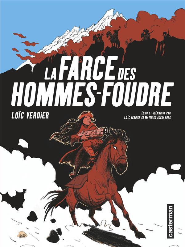 Couverture de La farce des Hommes-Foudre - La Farce des Hommes-Foudre