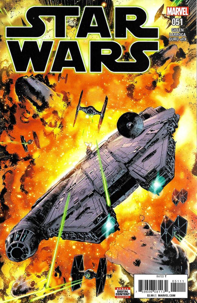 Couverture de Star Wars (2015) -51- Hope Dies Part III