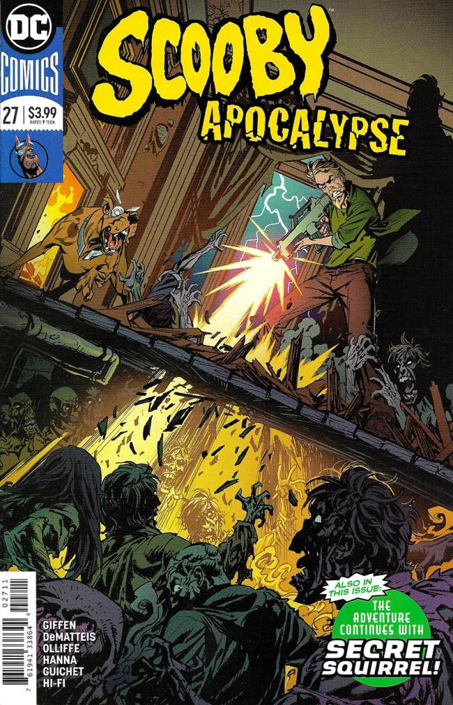 Couverture de Scooby Apocalypse (2016) -27- Bloody Reunion!