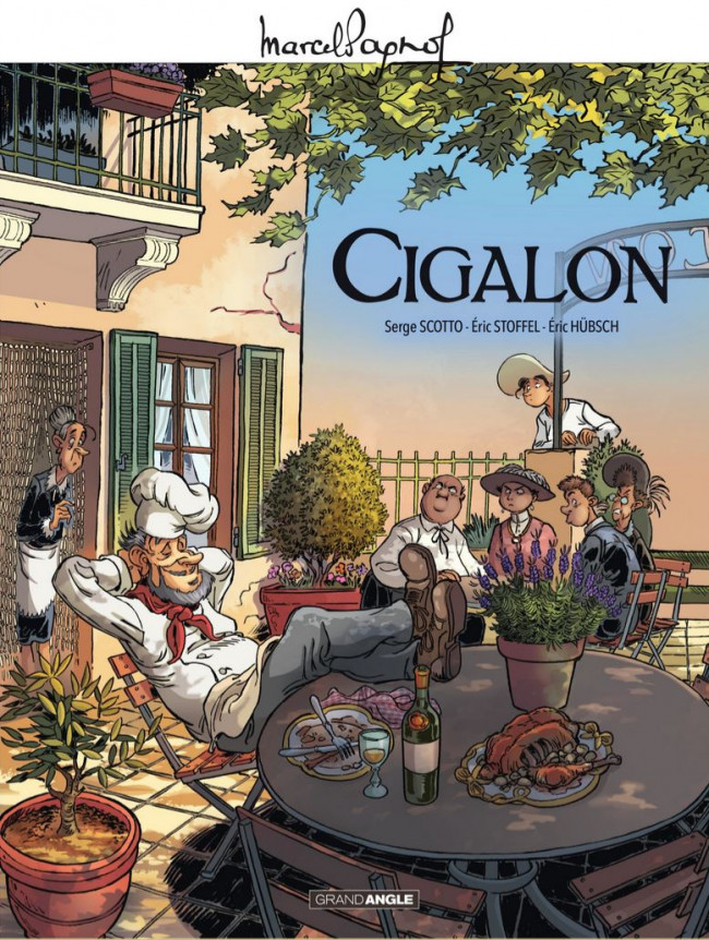 Couverture de Cigalon