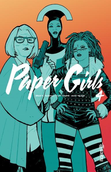 Couverture de Paper Girls -4- Tome 4