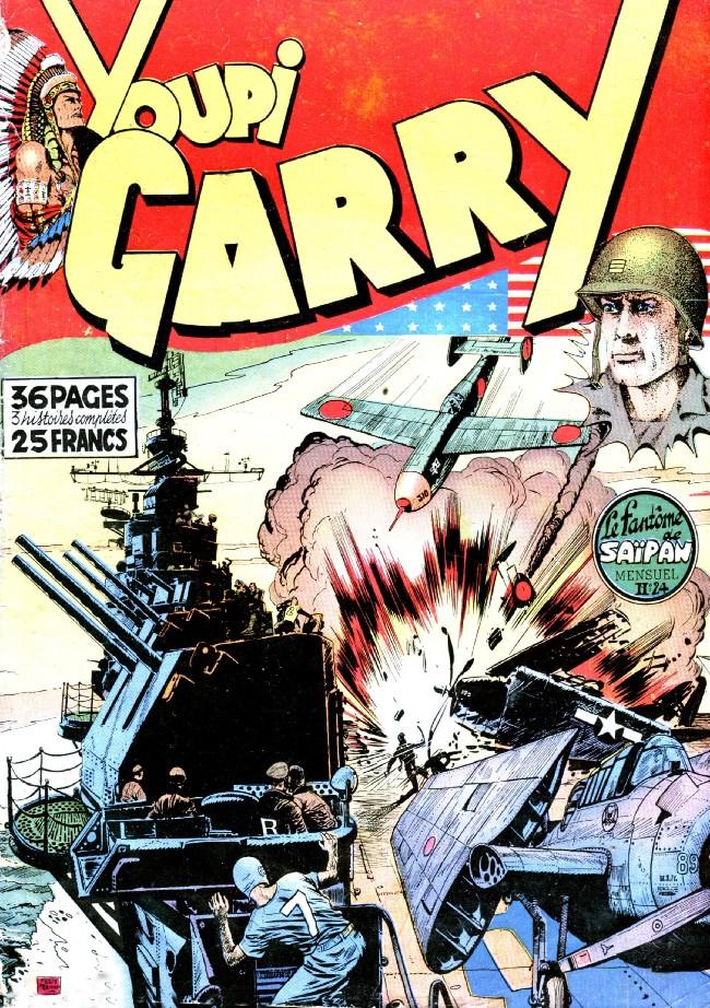 Couverture de Garry -24- Le fantôme de Saïpan