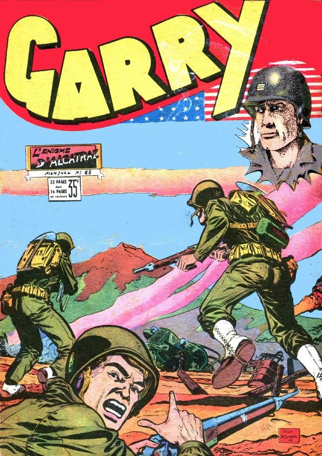 Couverture de Garry (sergent) (Imperia) (1re série grand format - 1 à 189) -65- L'énigme d'Alcatraz