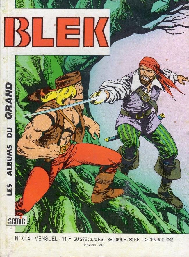 Couverture de Blek (Les albums du Grand) -504- Numéro 504