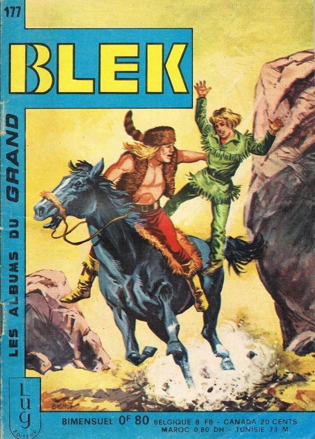 Couverture de Blek (Les albums du Grand) -177- Numéro 177