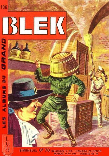Couverture de Blek (Les albums du Grand) -136- Numéro 136