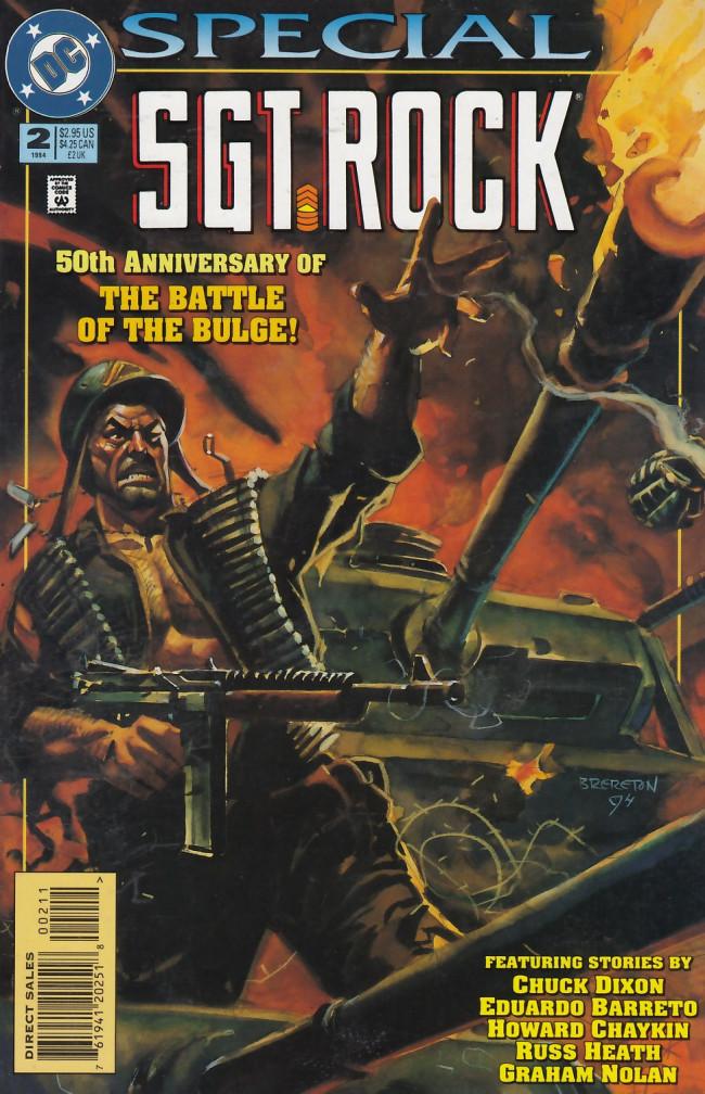 Couverture de Sgt. Rock (1988) -SP02- Sgt. Rock Special #2