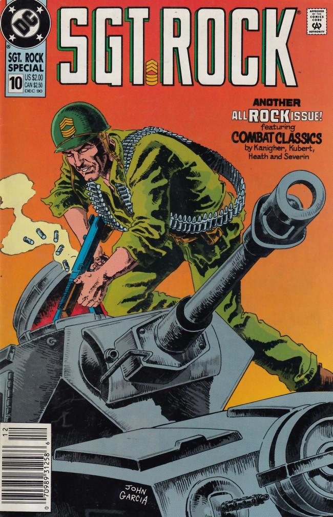 Couverture de Sgt. Rock (1988) -10- Sgt. Rock #10