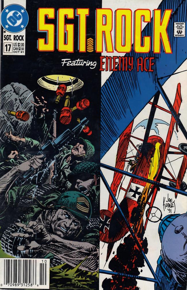 Couverture de Sgt. Rock (1988) -17- Sgt. Rock #17