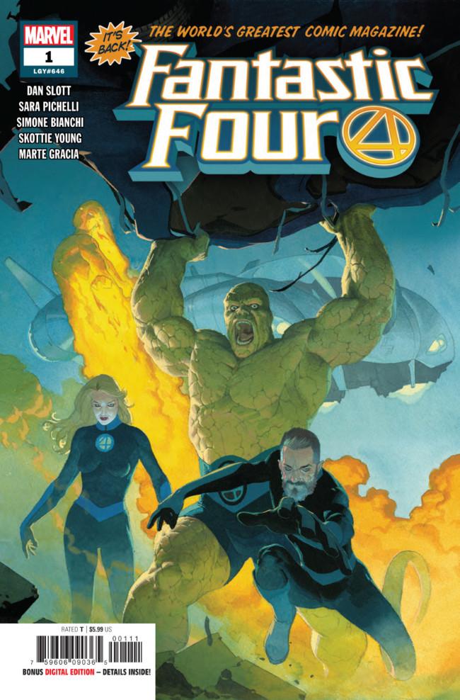 Couverture de Fantastic Four (2018) -1A- Fourever Part One