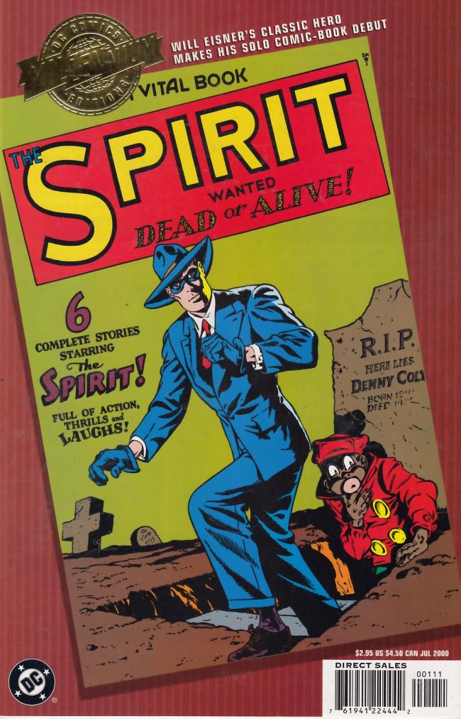 Couverture de Millennium edition (2000) - The Spirit