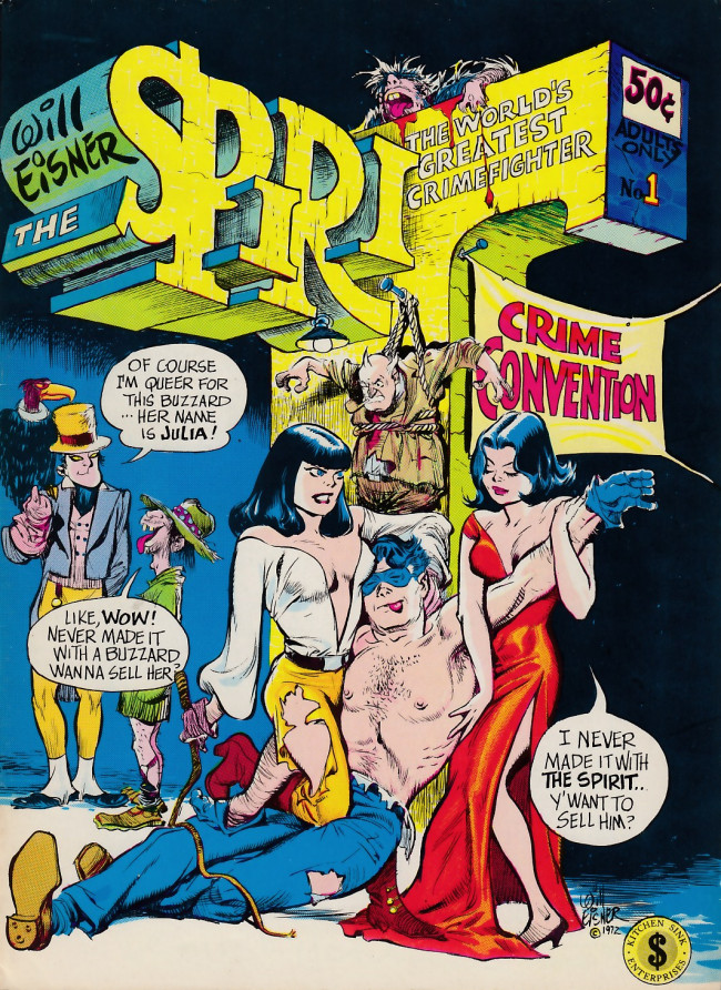 Couverture de Spirit (The) (1973) -1- The Spirit #1 [Crime Convention]