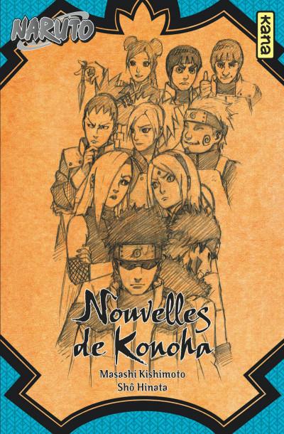 Couverture de Naruto (Roman) - Nouvelles de Konoha