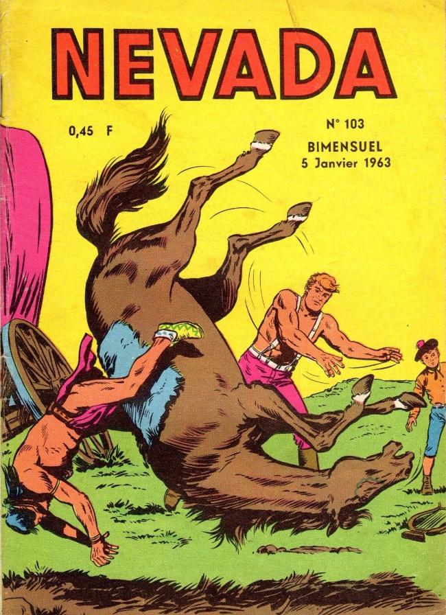 Couverture de Nevada (LUG) -103- Numéro 103