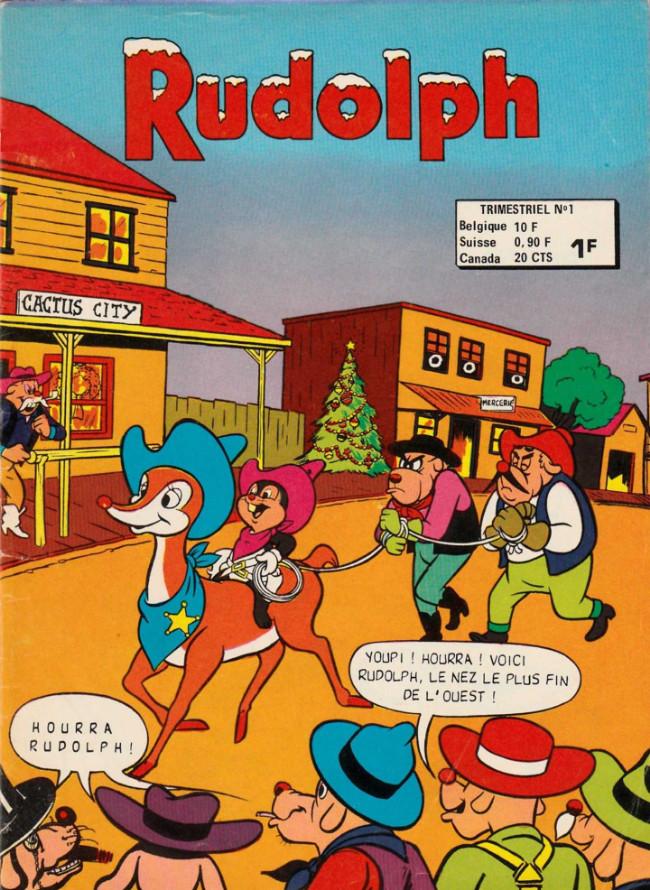 Couverture de Rudolph - Les aventures de Peter Panda -1- Le petit renne au nez rouge
