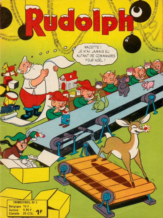 Couverture de Rudolph - Les aventures de Peter Panda -2- Le club d'admirateur