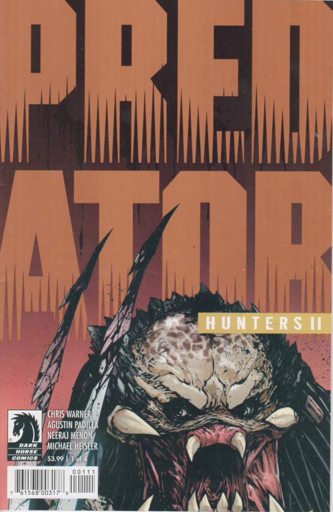 Couverture de Predator: Hunters II -1- issue #1