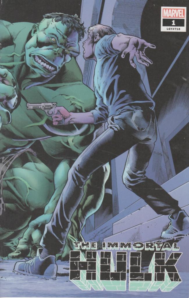 Couverture de Immortal Hulk (The) (2018) -1H- James Bennet variant
