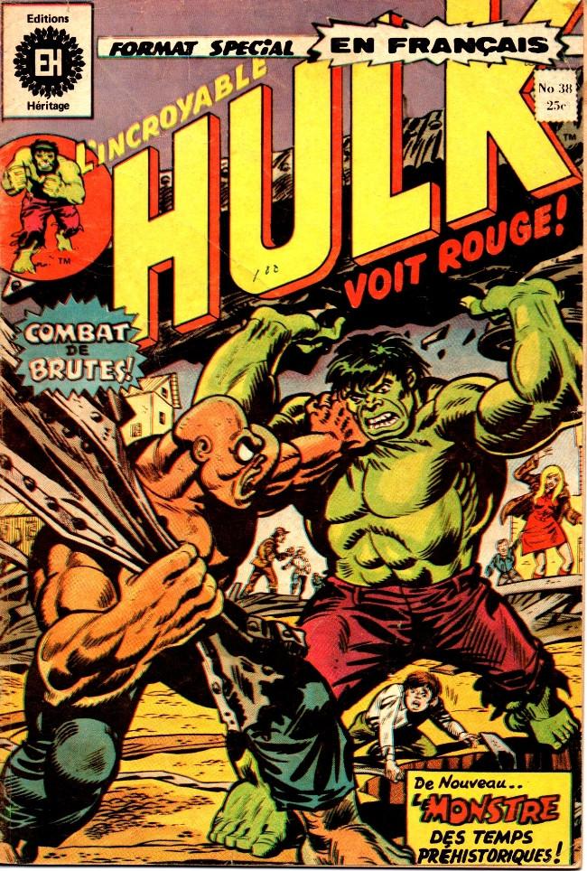 Couverture de L'incroyable Hulk (Éditions Héritage) -38- De nouveau: l'anneau manquant!