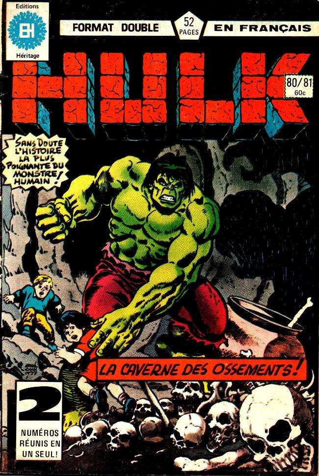 Couverture de L'incroyable Hulk (Éditions Héritage) -8081- Nourrir Billy