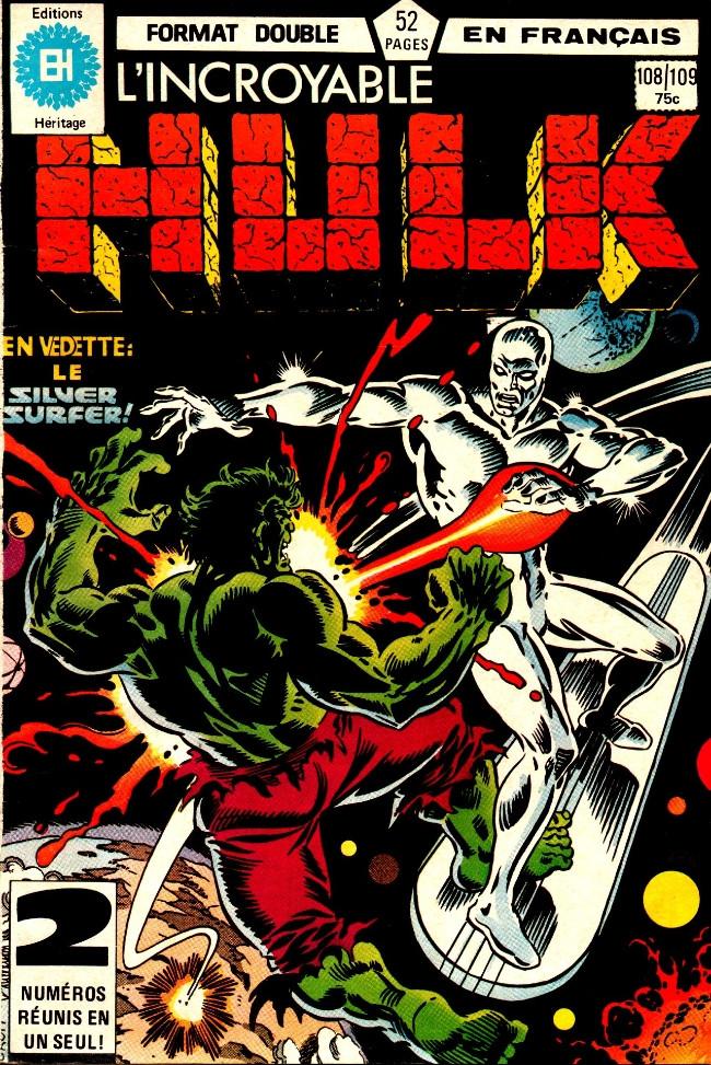 Couverture de L'incroyable Hulk (Éditions Héritage) -108109- Le monstre!