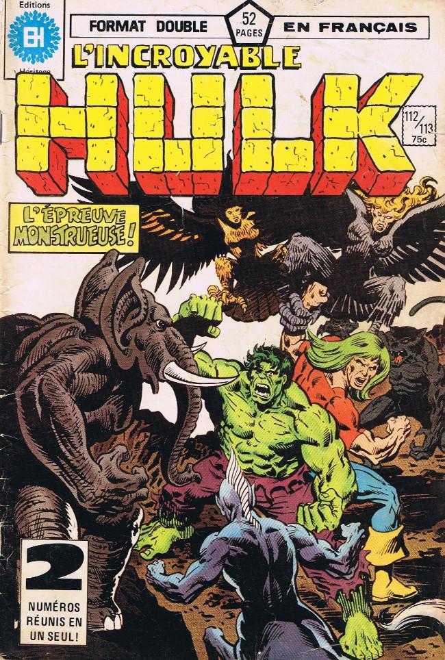 Couverture de L'incroyable Hulk (Éditions Héritage) -112113- les mutants... Partie II!