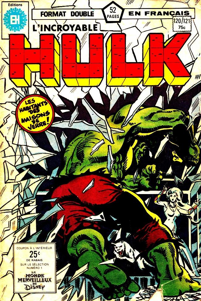 Couverture de L'incroyable Hulk (Éditions Héritage) -120121- Rencontre sur l'île de Pâques